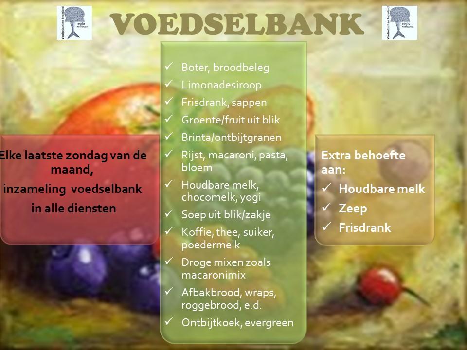 Voedselbank algemeen